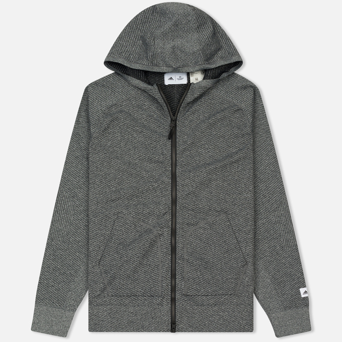 Мужская толстовка adidas Originals x Reigning Champ Primeknit Z.N.E. Hoodie Dark Grey Heather
