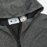 Мужская толстовка adidas Originals x Reigning Champ Primeknit Z.N.E. Hoodie Dark Grey Heather фото- 1