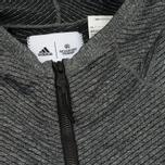 Мужская толстовка adidas Originals x Reigning Champ Primeknit Z.N.E. Hoodie Dark Grey Heather фото- 3