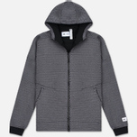Мужская толстовка adidas Originals x Reigning Champ Spacer Mesh Hoodie Z.N.E. Black фото- 0