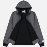 Мужская толстовка adidas Originals x Reigning Champ Spacer Mesh Hoodie Z.N.E. Black фото- 3