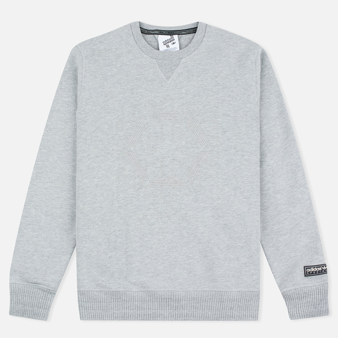 Мужская толстовка adidas Originals x Spezial Graphic Crew Medium Grey Heather/Solid Grey