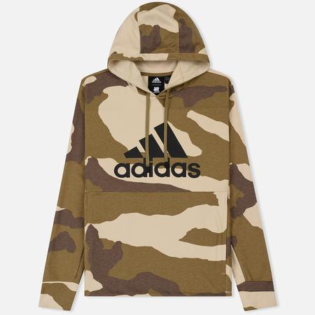 Мужская толстовка adidas Originals x Undefeated Tech Running Hoodie Dune/Tactile Khaki/Base Khaki