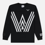 Мужская толстовка adidas Originals x White Mountaineering Crew Sweat Black фото- 0