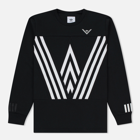 Мужская толстовка adidas Originals x White Mountaineering Crew Sweat Black