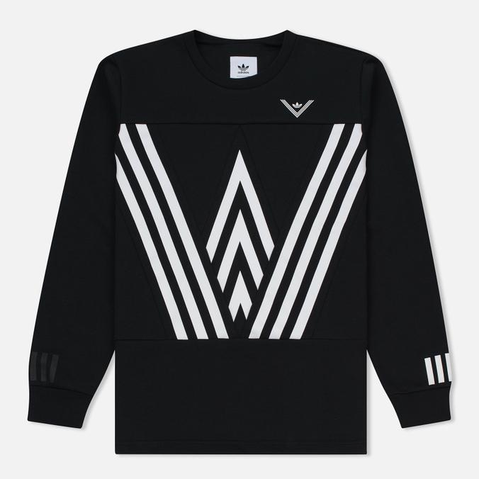 Мужская толстовка adidas Originals x White Mountaineering Crew Sweat Black