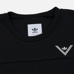 Мужская толстовка adidas Originals x White Mountaineering Crew Sweat Black фото- 1