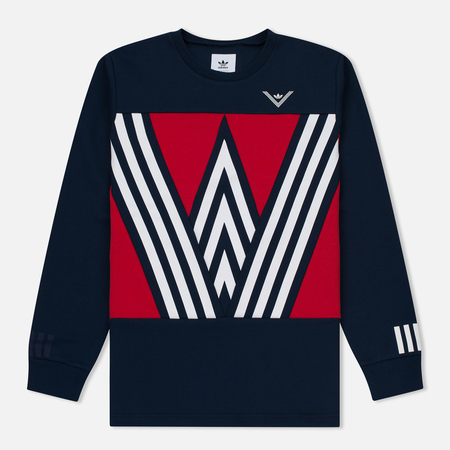 Мужская толстовка adidas Originals x White Mountaineering Crew Sweat Collegiate Navy