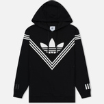 Мужская толстовка adidas Originals x White Mountaineering Logo Hoodie Black фото- 0