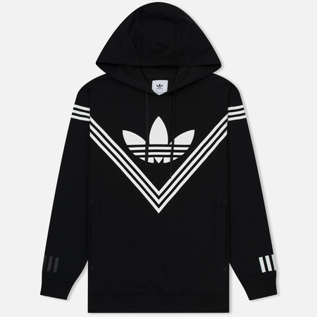 Мужская толстовка adidas Originals x White Mountaineering Logo Hoodie Black