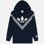 Мужская толстовка adidas Originals x White Mountaineering Logo Hoodie Collegiate Navy фото- 0