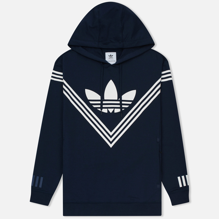 Мужская толстовка adidas Originals x White Mountaineering Logo Hoodie Collegiate Navy