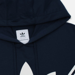 Мужская толстовка adidas Originals x White Mountaineering Logo Hoodie Collegiate Navy фото- 1