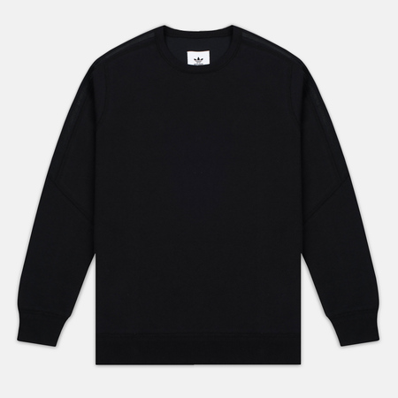 adidas Originals x Wings + Horns Bonded Crew Neck Men's Sweatshirt Black