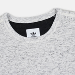 Мужская толстовка adidas Originals x Wings + Horns Bonded Crew Neck Off White фото- 1