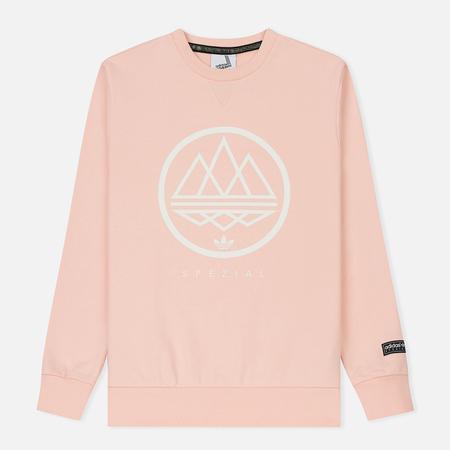 Мужская толстовка adidas Spezial Mod Trefoil Crew Ice Pink