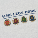 Мужская толстовка Aime Leon Dore Ald Crest & Logo Crew Neck Grey Mix фото- 2