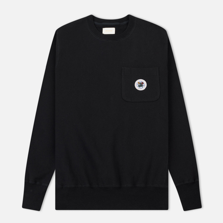 Мужская толстовка Aime Leon Dore Crew Neck Pocket Black