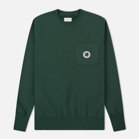 Мужская толстовка Aime Leon Dore Crew Neck Pocket Green