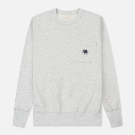 Мужская толстовка Aime Leon Dore Crew Neck Pocket Grey Mix