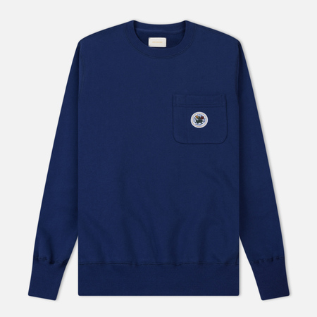 Мужская толстовка Aime Leon Dore Crew Neck Pocket Navy