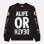 Мужская толстовка Alife Wise Sayings Crewneck Black фото- 0