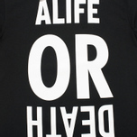 Мужская толстовка Alife Wise Sayings Crewneck Black фото- 3