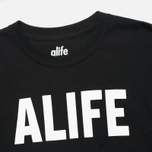 Мужская толстовка Alife Wise Sayings Crewneck Black фото- 1