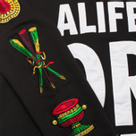 Мужская толстовка Alife Wise Sayings Crewneck Black фото- 5