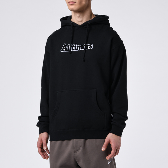 Мужская толстовка Alltimers Broadway Hoody Black/White