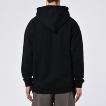 Мужская толстовка Alltimers Broadway Hoody Black/White фото- 4