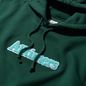 Мужская толстовка Alltimers Broadway Hoody Dark Green фото - 1