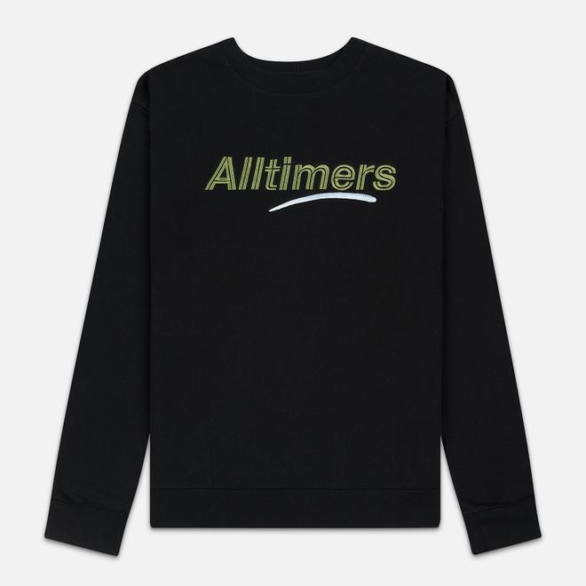 Мужская толстовка Alltimers Estate Crew Black