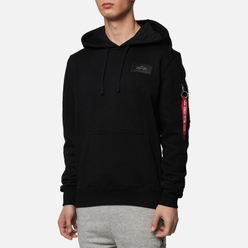 Мужская толстовка Alpha Industries Back Print Hoody Black