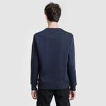 Мужская толстовка Alpha Industries Basic Sweater Replica Blue фото- 3