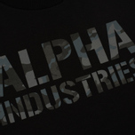 Мужская толстовка Alpha Industries Camo Print Black/Black фото- 2