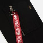 Мужская толстовка Alpha Industries Camo Print Black/Black фото- 4