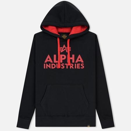 Мужская толстовка Alpha Industries Foam Print Hoody Black