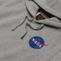Мужская толстовка Alpha Industries Nasa Space Shuttle Hoody Grey Heather фото - 1