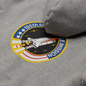 Мужская толстовка Alpha Industries Nasa Space Shuttle Hoody Grey Heather фото - 2