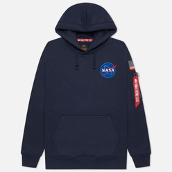 Мужская толстовка Alpha Industries Nasa Space Shuttle Hoody Replica Blue