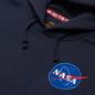Мужская толстовка Alpha Industries Nasa Space Shuttle Hoody Replica Blue фото - 1