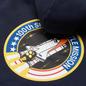 Мужская толстовка Alpha Industries Nasa Space Shuttle Hoody Replica Blue фото - 2