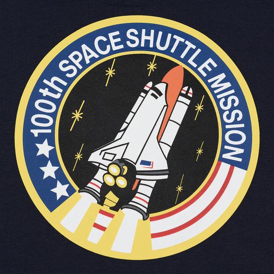 Мужская толстовка Alpha Industries Nasa Space Shuttle Hoody Replica Blue