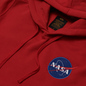 Мужская толстовка Alpha Industries Nasa Space Shuttle Hoody Speed Red фото - 1