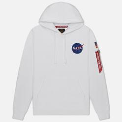 Мужская толстовка Alpha Industries NASA Space Shuttle Hoody White