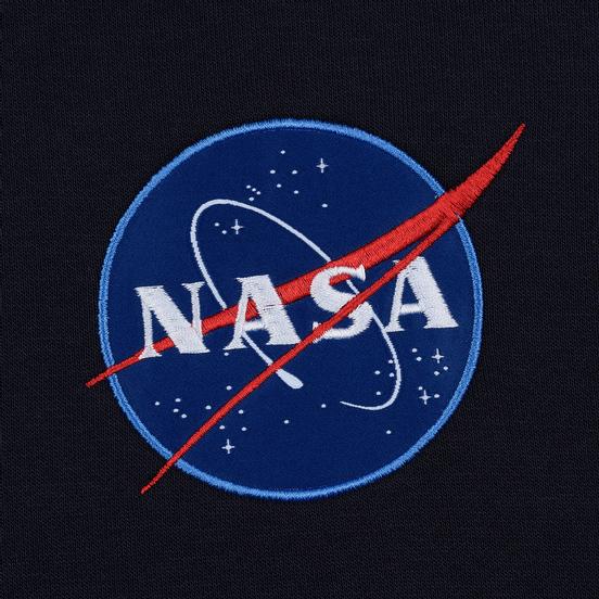 Мужская толстовка Alpha Industries Nasa Space Shuttle Replica Blue