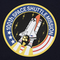 Мужская толстовка Alpha Industries Nasa Space Shuttle Replica Blue фото - 6