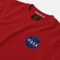 Мужская толстовка Alpha Industries Nasa Space Shuttle Speed Red фото - 1