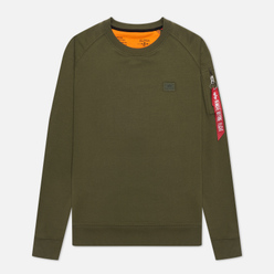 Мужская толстовка Alpha Industries X-Fit Dark Green